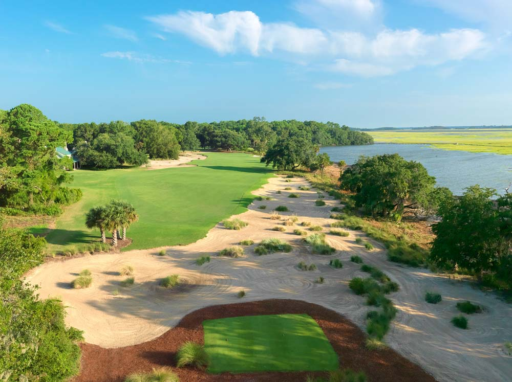 18th Hole, Old Tabby Links, Spring Island, South Carolina